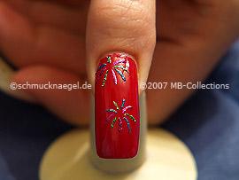 Nochevieja 3: Nail Art Motivo 097