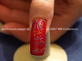 Nail art motivo 097