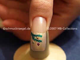 Motivo de Navidad 5 - Nail Art Motivo 098