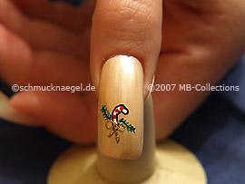 Motivo de Navidad 6 - Nail Art Motivo 099