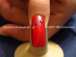 New years eve motif 4: Nail art motif 100