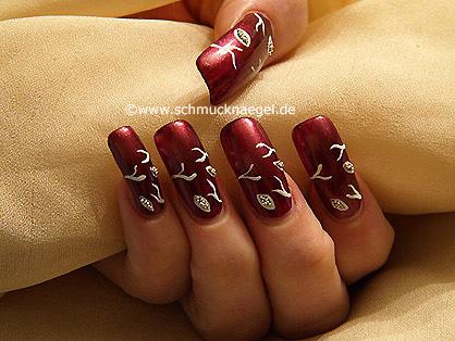 Nail design tutorial for fingernails