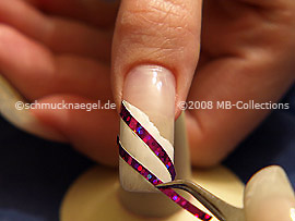 Hologram foil and the tweezers