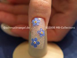 Nail art motif 118
