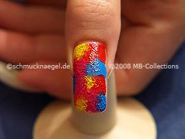 Nail art motif 122