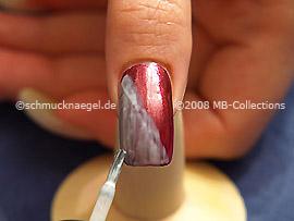 Metallic foil adhesive