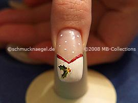 Christmas motif 9 - Nail art motif 149
