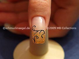 Nail art motif 154