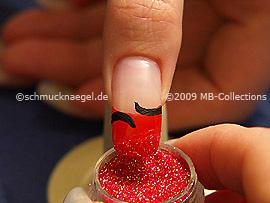 Glitter-Powder in red