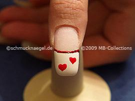 Colour gel motif 002 - Nail art 157