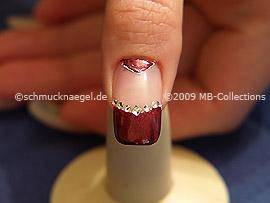 Nail art motif 166