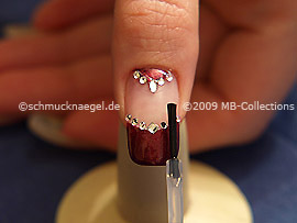 Clear nail lacquer