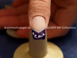 Colour gel motif 004 - Nail art 170