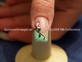 Colour gel motif 005 - Nail art 171
