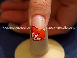 Colour gel motif 006 - Nail art 172