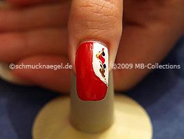 Nail art motif 177