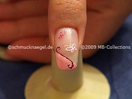 Nail art motif