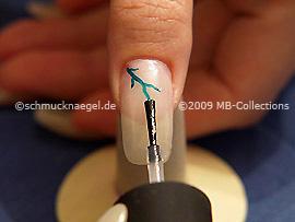Nail art motif 186