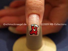 Christmas motif 11 - Nail art motif 195