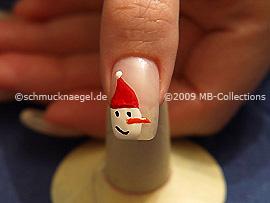 Christmas motif 12 - Nail art motif 196