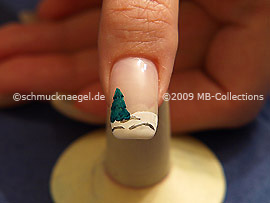 Christmas motif 13 - Nail art motif 197