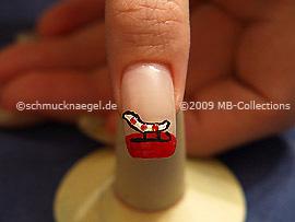 Christmas motif 14 - Nail art motif 198