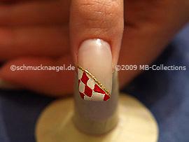 Carnival motif 3: Nail art motif 202