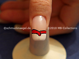 Nail art motif 208