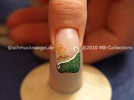 Easter motif 3 - Nail art motif 210