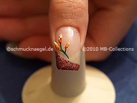 Nail art motif 214