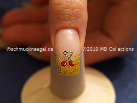 Nail art motif 215