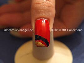 Nail art motif 218