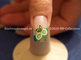 Nail art motif 222