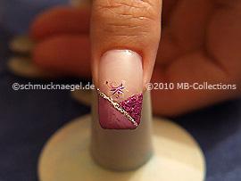 Nail art motif 232