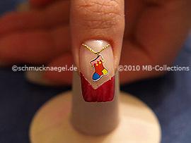 Nail art motif 243