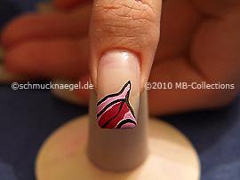 Nail art motif 244