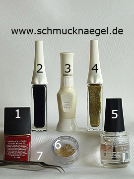 Products for the motif 'xxx' - Nail polish, Nail art liner, Nail art pen, Inlay motifs