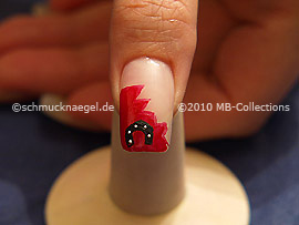 New Years Eve 6: Nail art motif 246