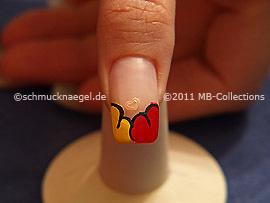 Nail art motif 261