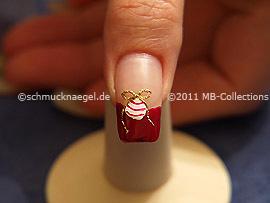 Christmas motif 18 - Nail art motif 294