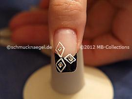 Nail art motif 256