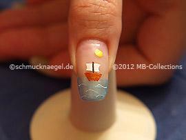 Nail art motif 319