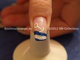 Nail art motif 322