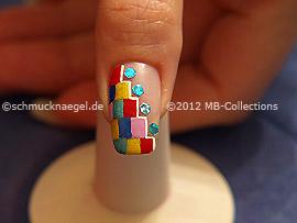 Nail art motif 308