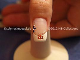 Nail art motif 332