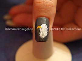 Nail art motif 333