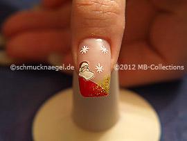 Christmas motif 21 - Nail art motif 342