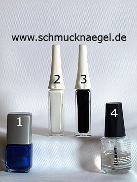 Products for the design 'Little bear as nail art motif' - Nail polish, Nail art liner