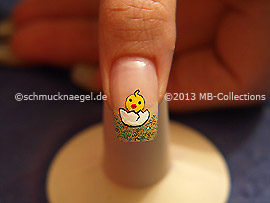 Easter motif 6: Nail art motif 354