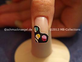 Nail art motif 355